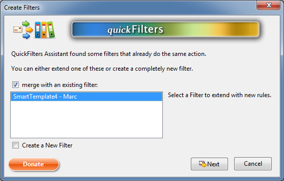 Extend existing filter